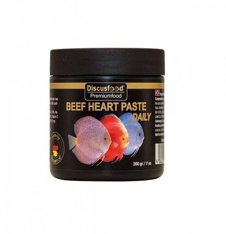 Discusfood Beef Heart paste daily 200 grs