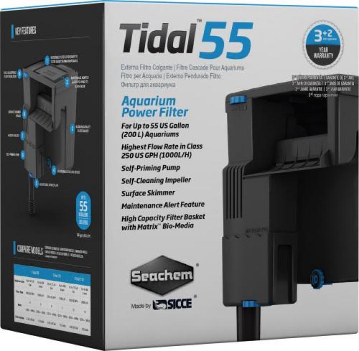 Filtro de cascada TIDAL 55