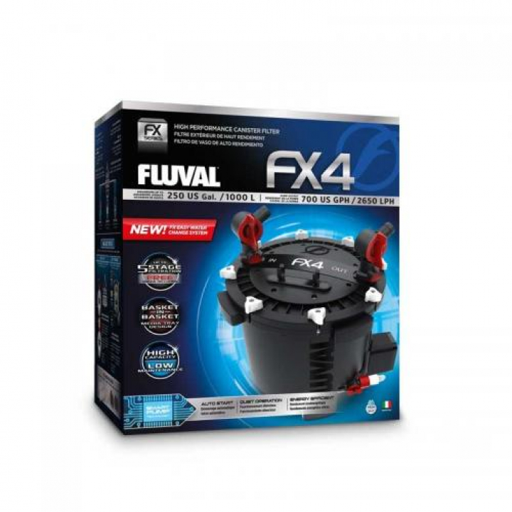 Filtros Externos Fluval FX - FX4 - 2650 l/h