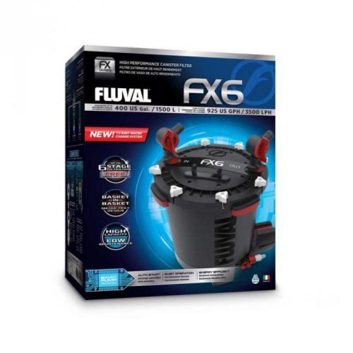 Filtros Externos Fluval FX - FX6 - 3500 l/h