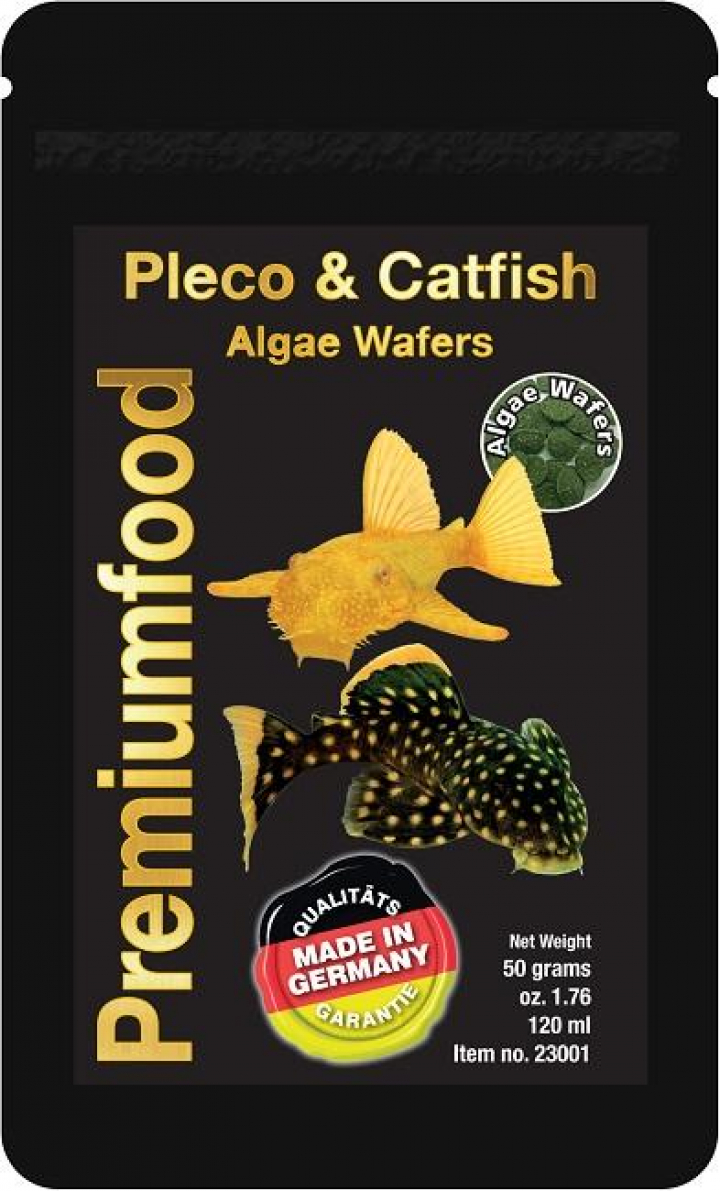 Discusfood Pleco & Catfish Algae Wafers 50grs