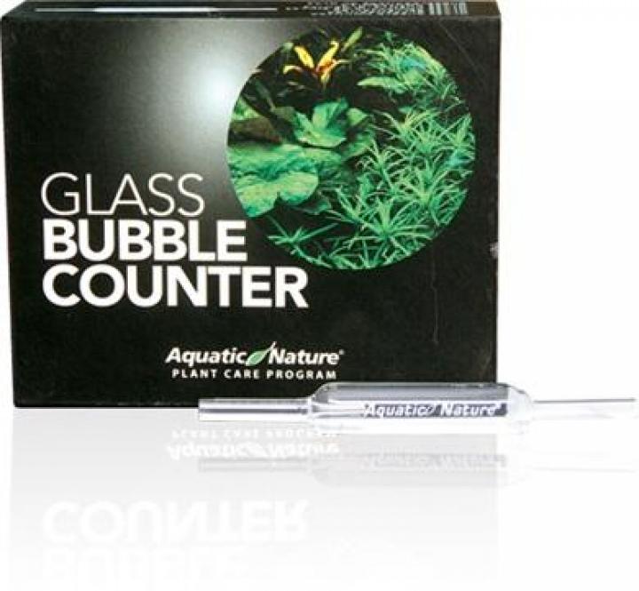 CO2 GLASS BUBBLE COUNTER