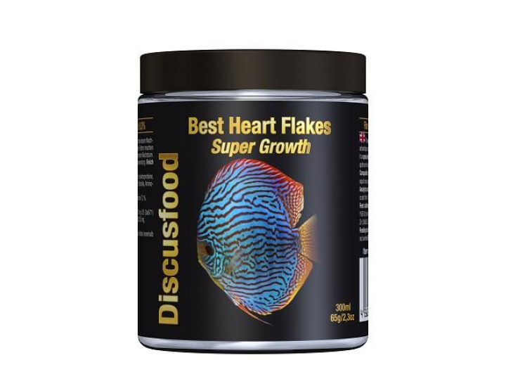 Discusfood Best Heart Flakes Super Growth 830ml/180grs