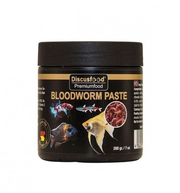 Discusfood Bloodworm Paste 200 grs