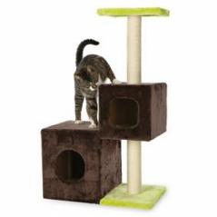 Arranhador trepador NALDO p gatos Cast.e verde