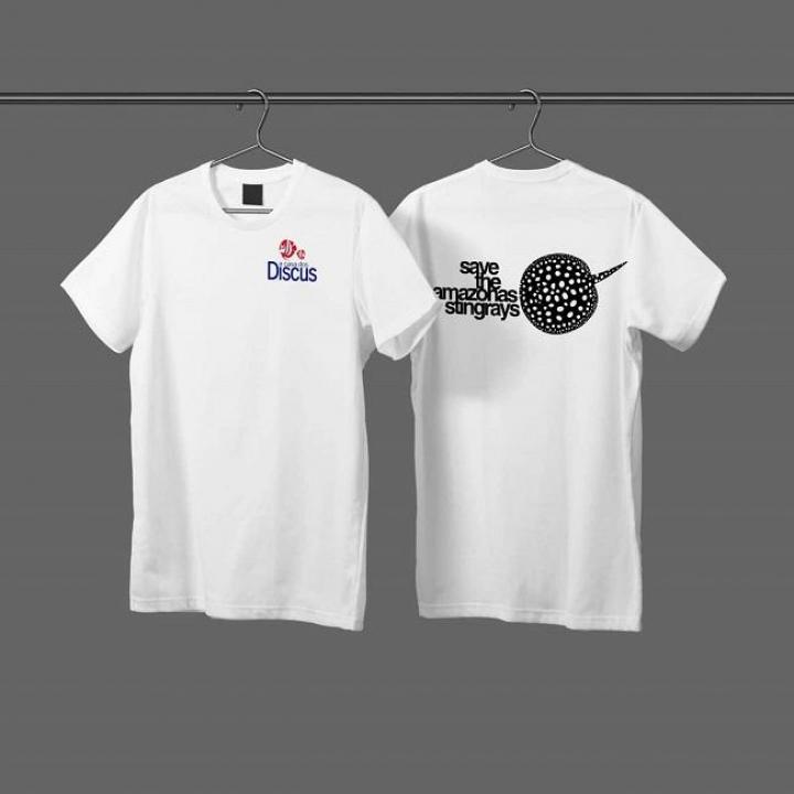 T-shirt personalizada 'Save the amazonas stingrays'