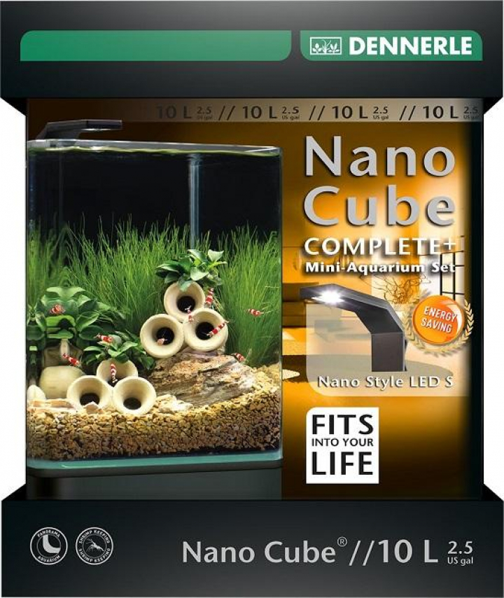 Dennerle - NANOCUBE® COMPLETE+ 10L Style LED S