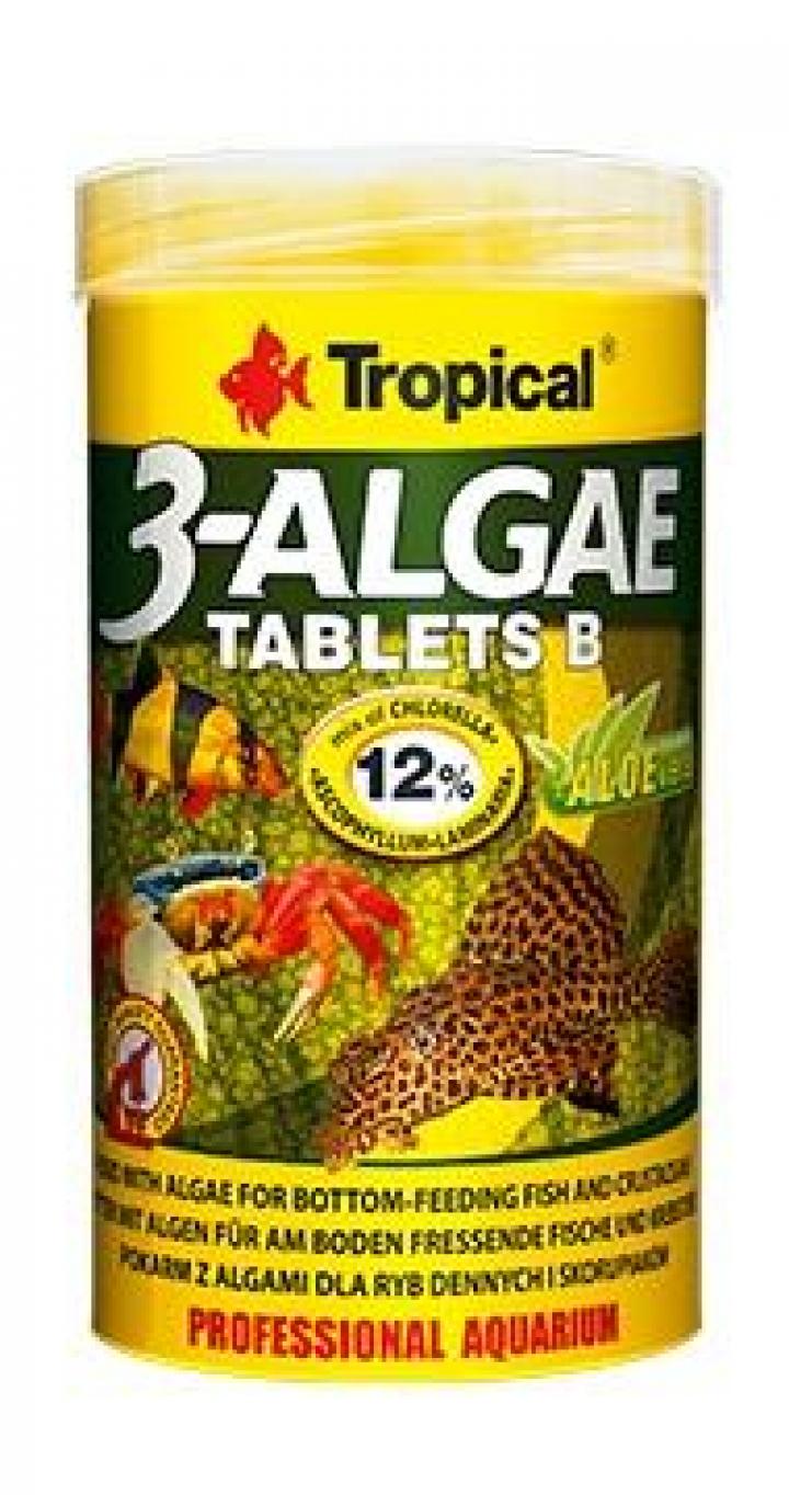 ALIMENTO TROPICAL 3 Algae Tablets B 250ml