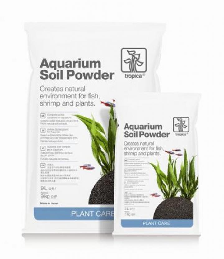 Aquarium Soil Powder 9 lts