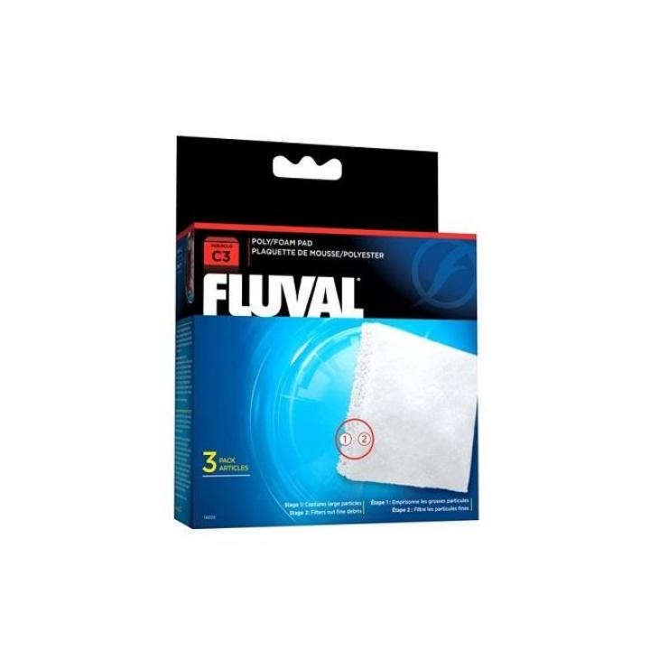 FLUVAL C3 FOAMEX/POLIESTER
