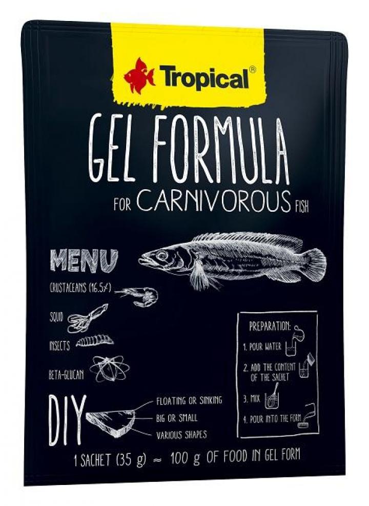 Tropical Gel Formula Carnivore 35grm