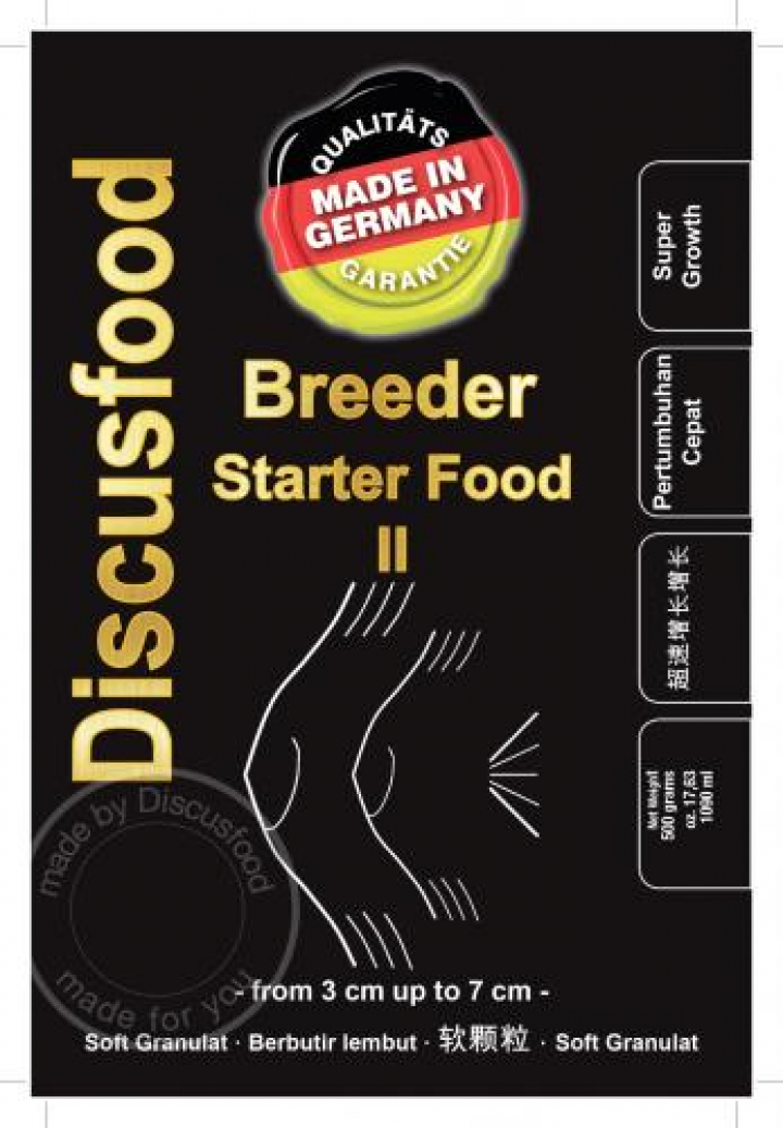 DiscusFood Breeder starter II 500 grs