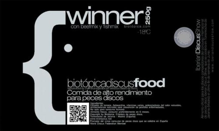 Alimento para Discus Biotópica Winner