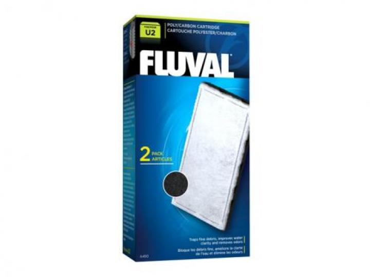 FLUVAL U2 POLY/CARBON (2PCS)