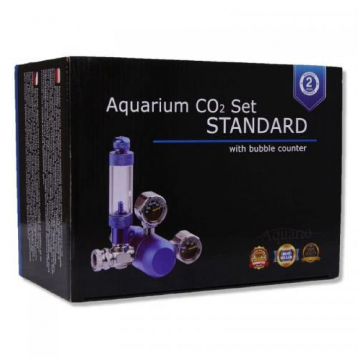 Set CO2 Aquario BLUE Standard