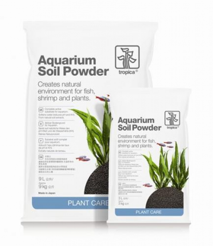 Aquarium Soil Powder 3 lts