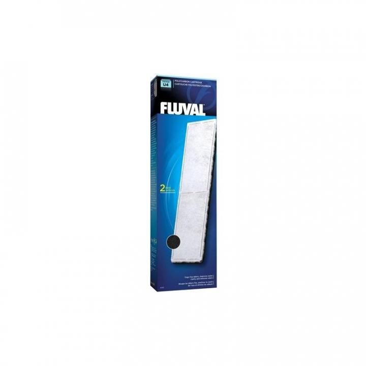 FLUVAL U4 POLY/CARBON (2PCS)