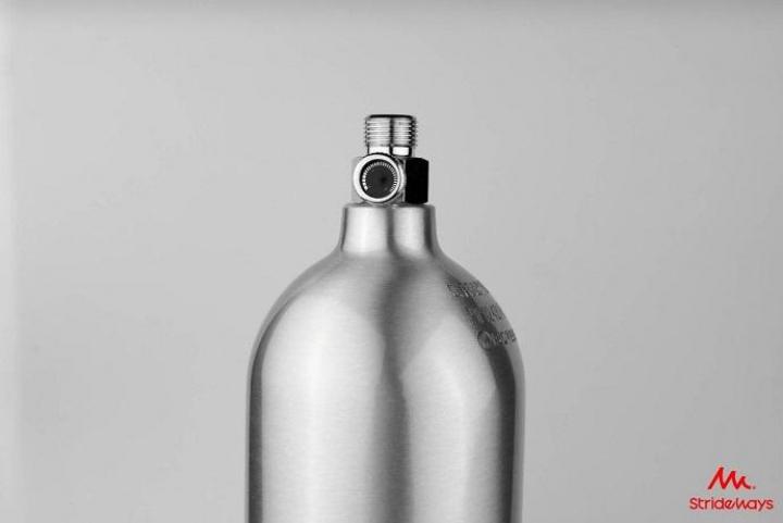 Strideways CO2 Aluminum Bottle – 2L