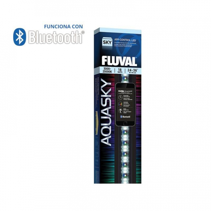 FLUVAL AQUASKY LED Bluetooth 2.0 16w 53-83cm