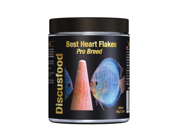 Discusfood Best Heart Flakes Pro Breed 300ml