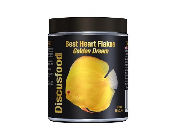 Discusfood Best Heart Flakes Golden Dream 300ml