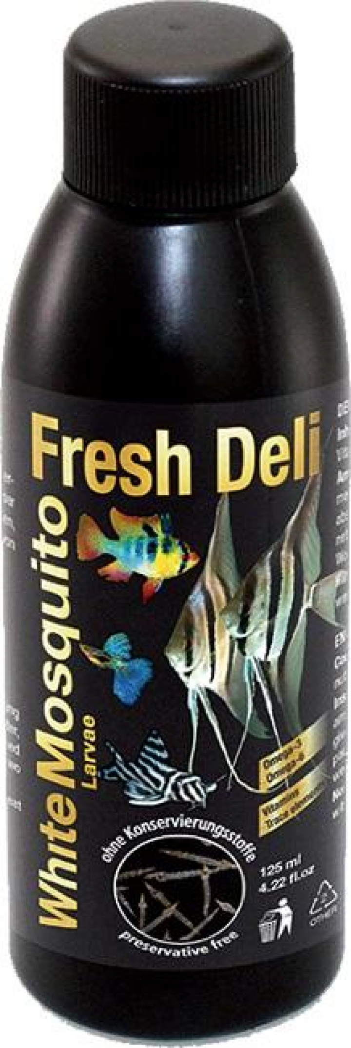 Discusfood Fresh Deli, White mosquito larvae in nutrient solution 125ml