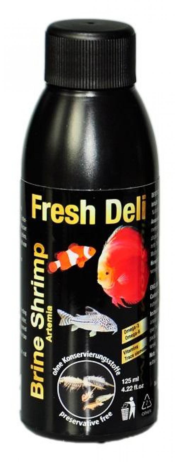 Discusfood Fresh Deli, Brine Shrimp (Artemia) in nutrient solution 125ml