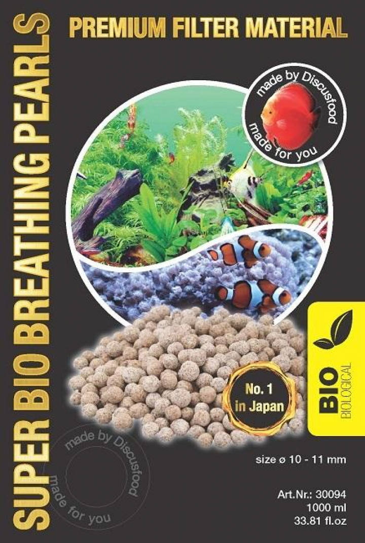 Discusfood Super Bio Breathing Pearls 1 ltr