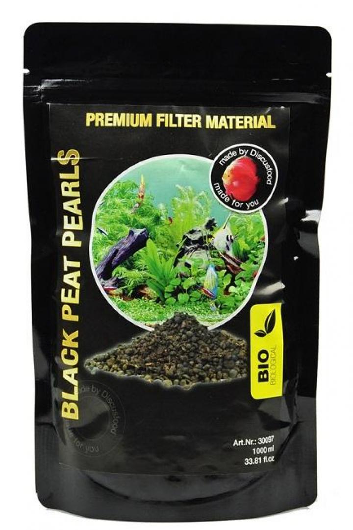 Discusfood Black peat Pearls 1 ltr