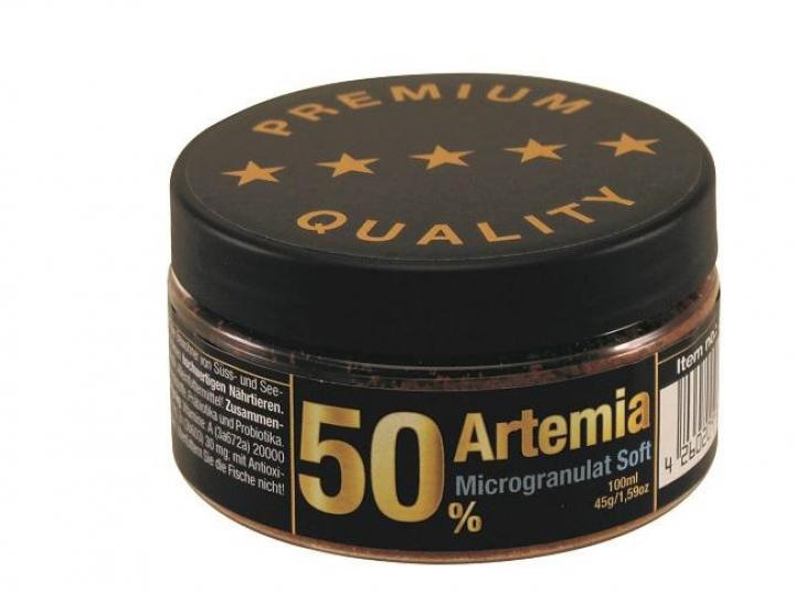 Discusfood Artemia 50%+ Microgranulate Soft 45grs