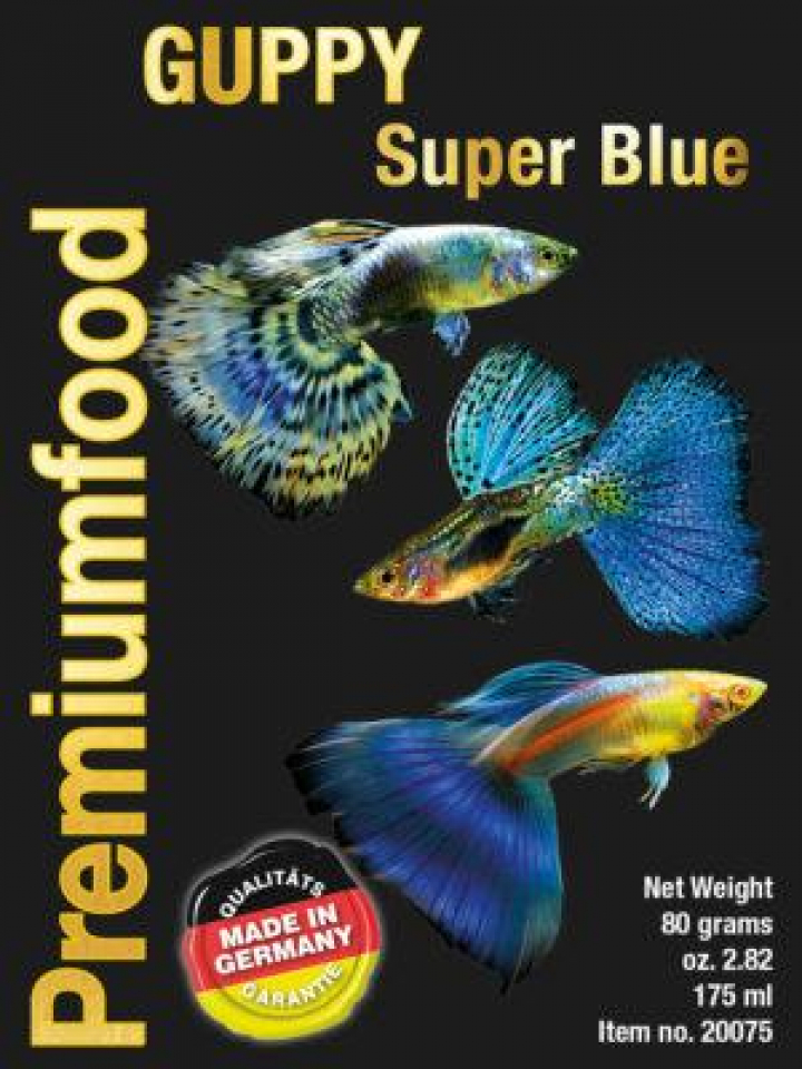 Discusfood Guppy super special blue 80 grs