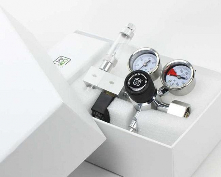 CO2Art Pro-Elite Series The Most Advanced Aquarium Dual Stage CO2 Regulator