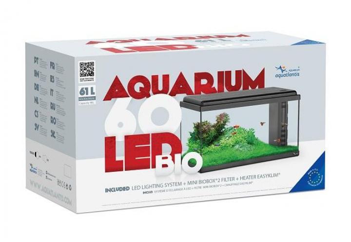 AQUARIO LED BIO 60 EQUIPADO