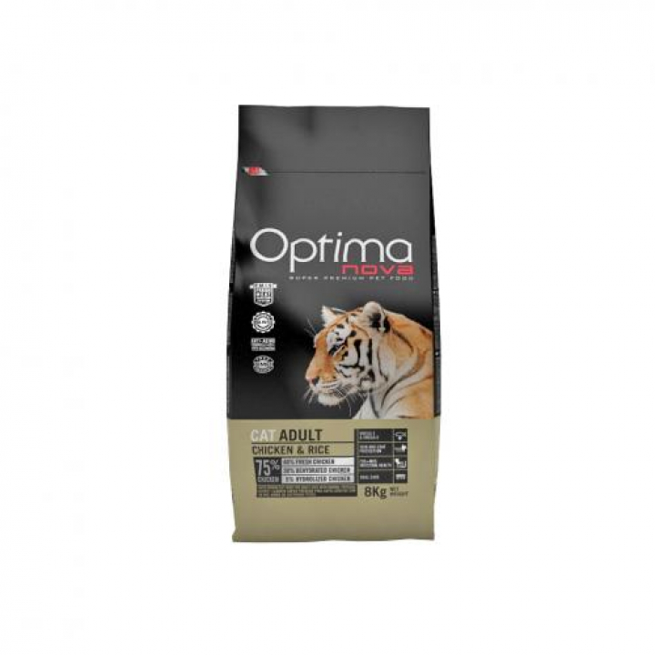 OPTIMA NOVA CAT ADULTO CHICKEN 400 grs