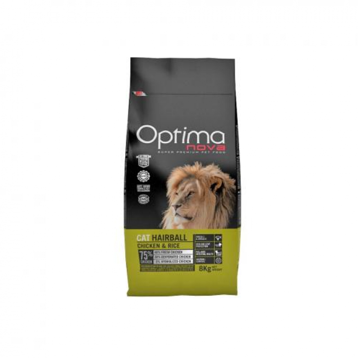 OPTIMA NOVA CAT HAIRBALL 400grs