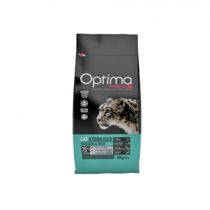OPTIMA NOVA CAT STERILISED 400 grs