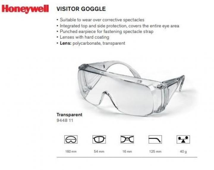 Óculos HD de protecção anti-vírus/anti-gota