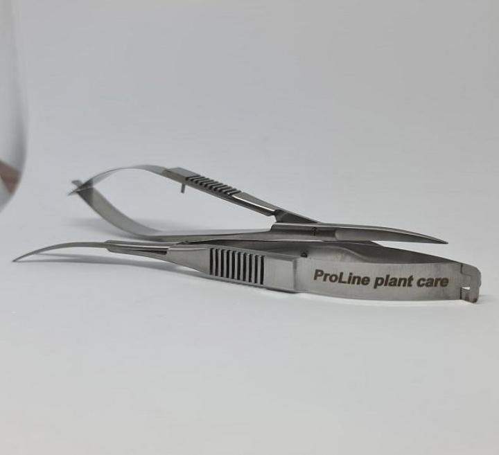 stainless steel-Tesoura de Mola em ângulo 16,5cm