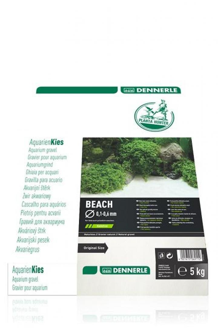 Dennerle - Natural gravel Plantahunter Beach 0.1-0.6 mm 5 Kg